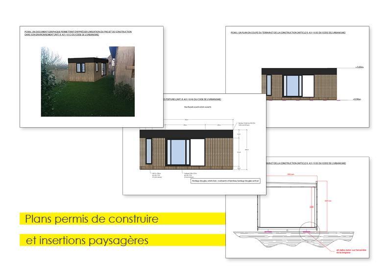 Plans pour permis de construire